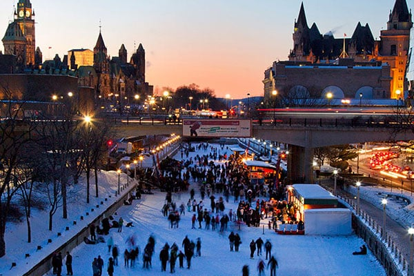patinage canal rideau