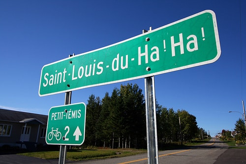 pancarte saint louis du ha ha