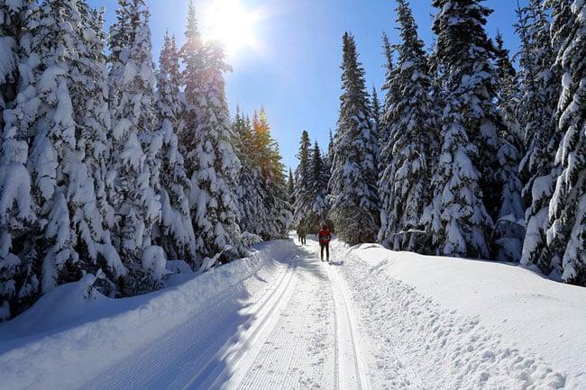 ski de fond quebec