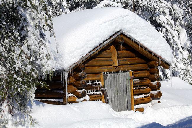 chalet hiver camp mercier