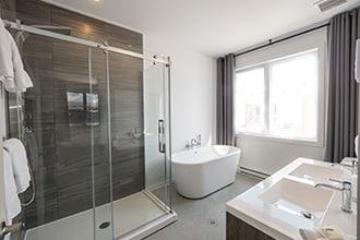 salle de bains chalet taureau