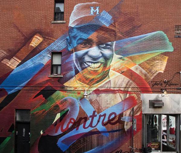 Murale JACKIE ROBINSON