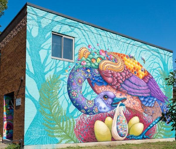 Murale la pangée