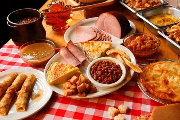 repas au Quebec
