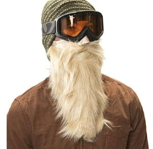 Masque de ski barbe