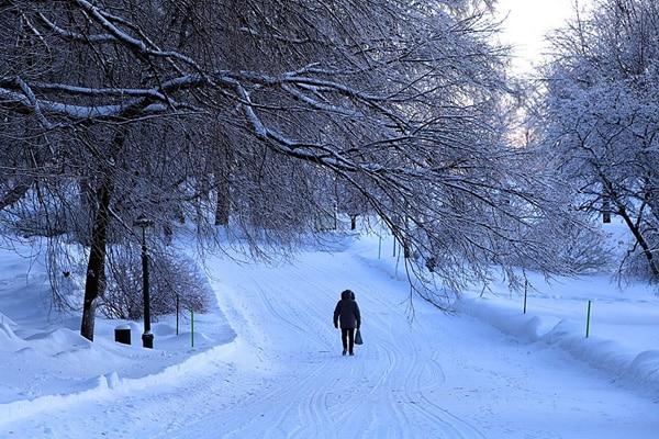 plaine Abraham hiver