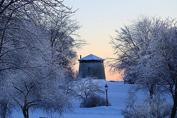 citadelle hiver quebec