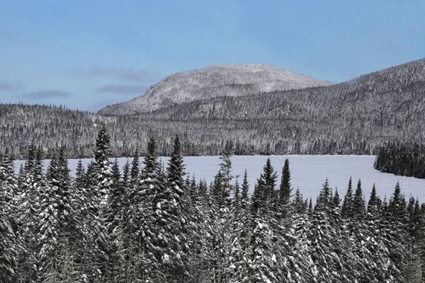lac hiver quebec