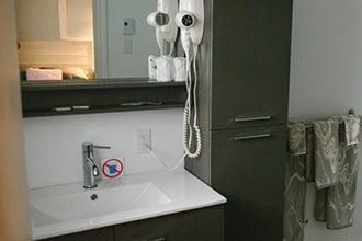 salle de bains lac edouard