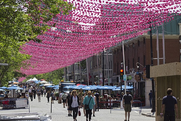 Rue Sainte-Catherine Montréal