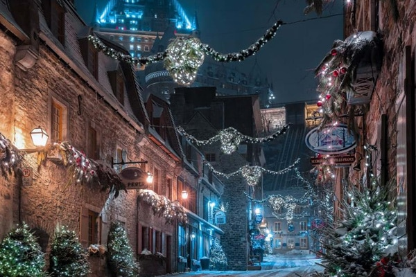 Rue Sous-le-Fort Québec