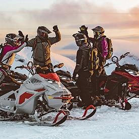 nouvelles motoneiges skidoo 2021