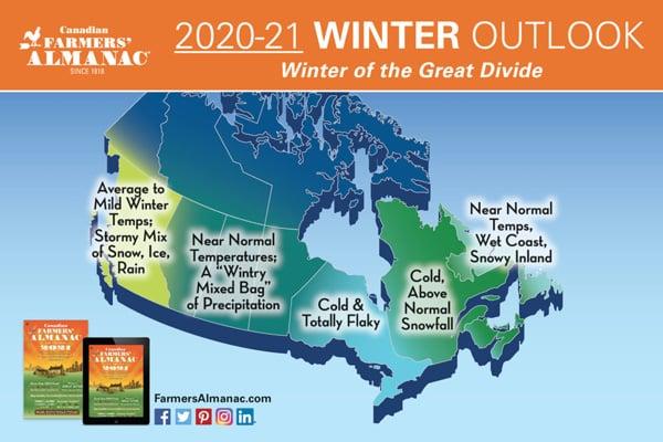 Prévisions hiver 2021 Canada