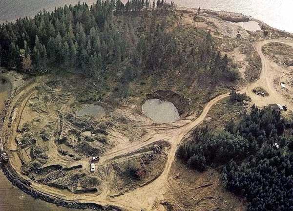 légende de oak island
