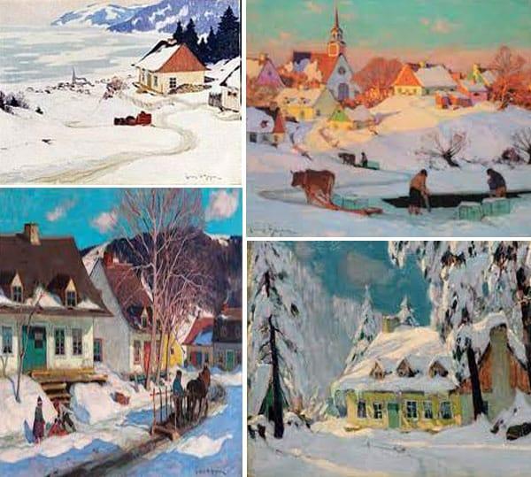 peinture Clarence Gagnon